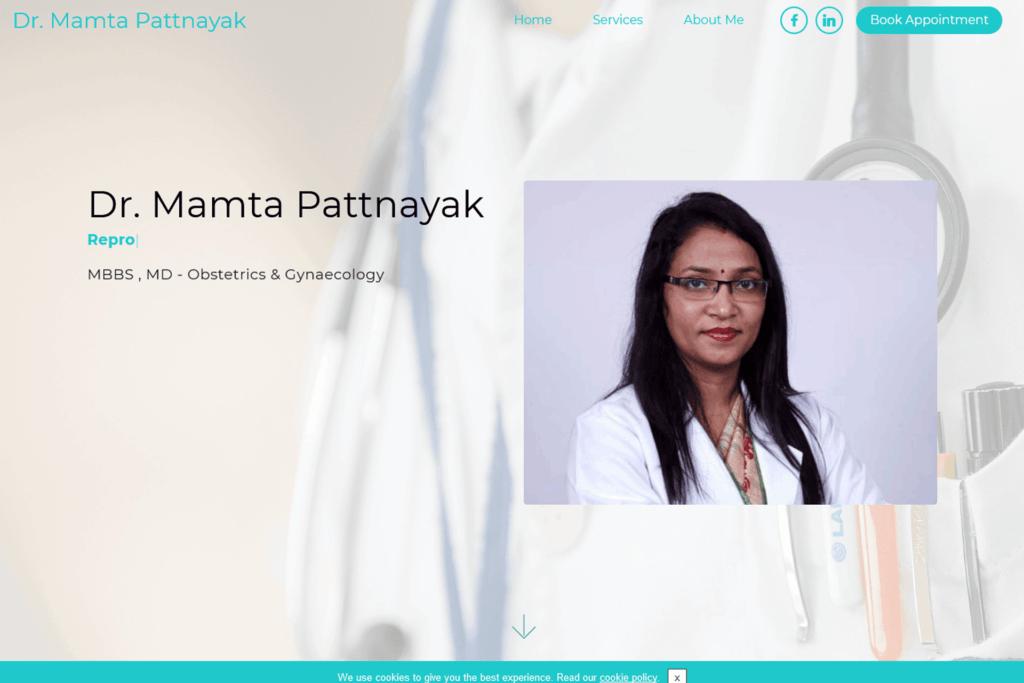 Dr Mamta Pattnayak Site