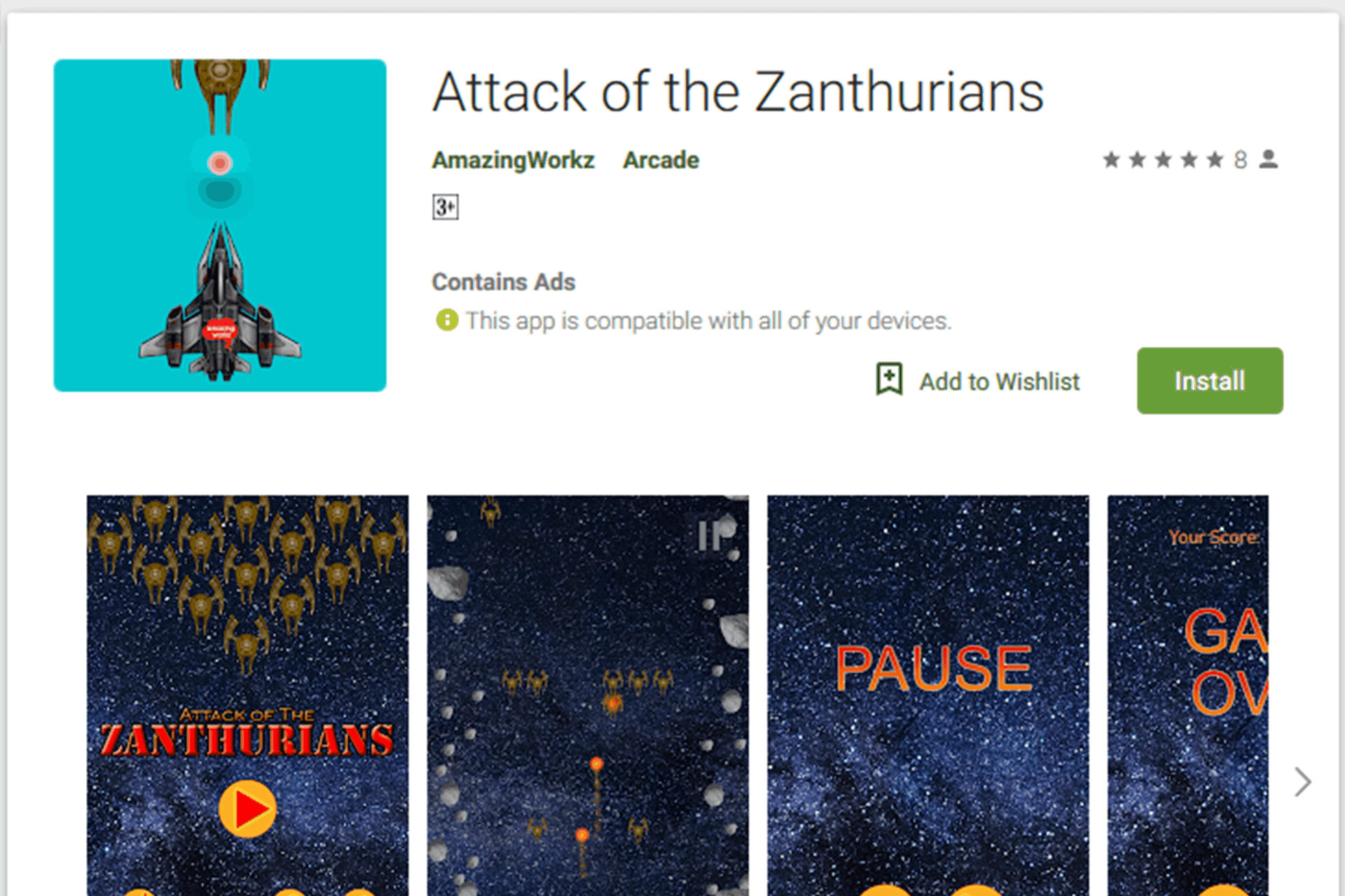 Attack of the Zanthurians